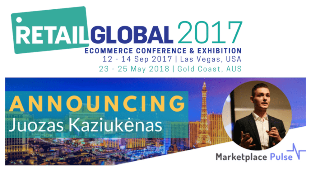 Marketplace Pulse Founder Juozas Joe Kaziukėnas to Keynote at Retail Global
