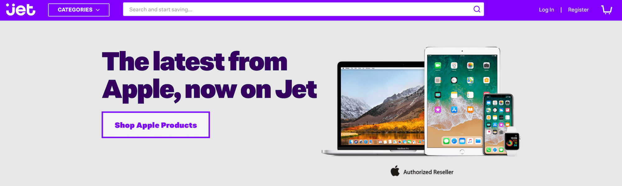 Apple products now on Jet.com