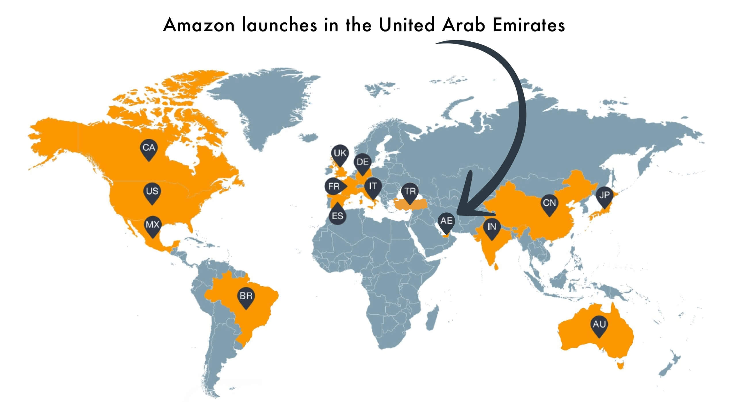 Amazon Launches in the United Arab Emirates - Marketplace Pulse