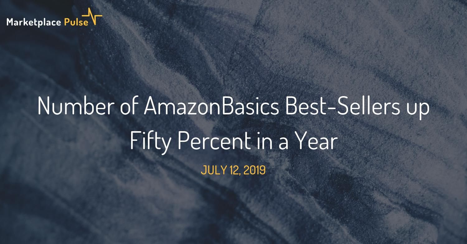 Number of AmazonBasics Best-Sellers up Fifty Percent in a Year