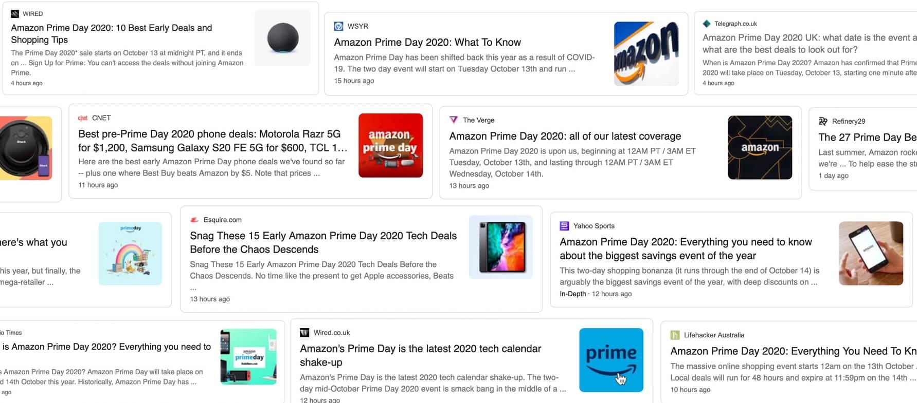 Amazon Prime Day affiliates