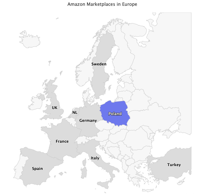 Amazon Marketplaces in Europe