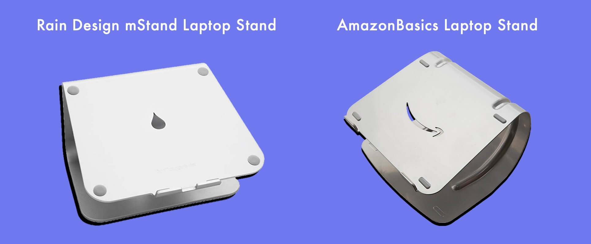 Rain Design mStand Laptop Stand vs AmazonBasics