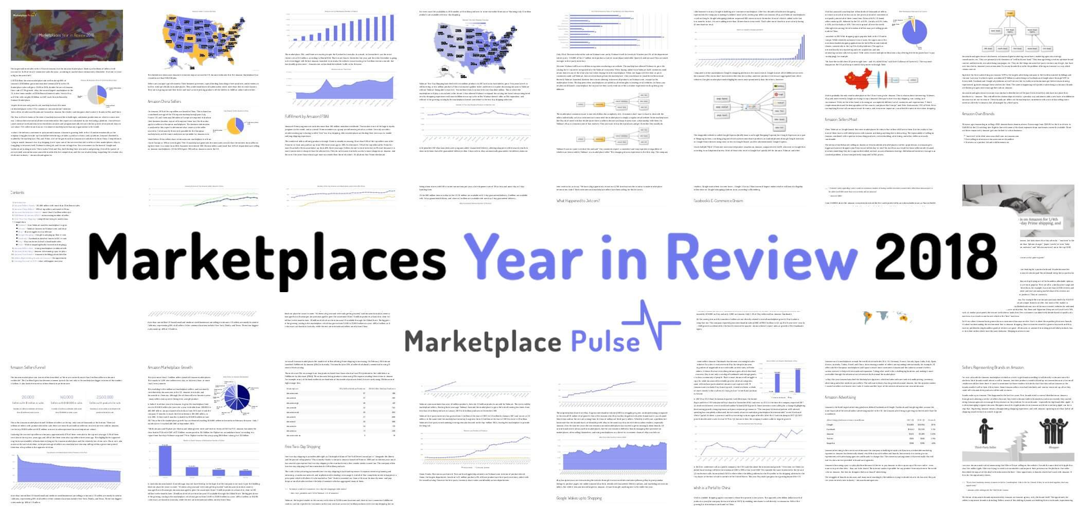 Marketplaces Year in Review 2018